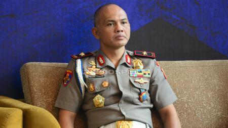 Ketua Satgas Anti-Mafia Bola, Brigjen Hendro Pandowo, baru saja menangkap enam tersangka kasus pengaturan skor di Liga 3 2019. - INDOSPORT