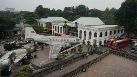 Museum Penjara Hoa Lo, Hanoi, Vietnam. Bekas penjara yang didirikan pemerintah kolonial Prancis pada tahun 1886 untuk menahan para tawanan politik itu saat ini menjadi salah satu destinasi wisata di Kota Hanoi, Vietnam - INDOSPORT