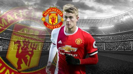 Matthijs de Ligt yang tengah diincar Manchester United, namun tidak 'direstui' Louis van Gaal yang pernah melatih di sana. - INDOSPORT