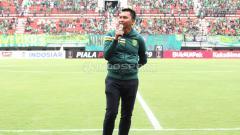Indosport - Presiden Persebaya Azrul Ananda.