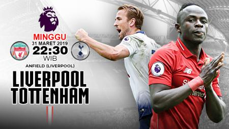 Pertandingan Liverpool vs Tottenham. - INDOSPORT