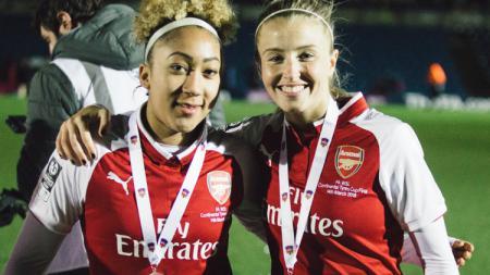Pemain Arsenal Ladies Saat Menjuarai Liga Primer Inggris - INDOSPORT