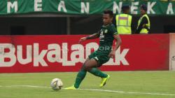 Penampilan Osvaldo Haay saat melawan Tira-Persikabo, Jumat (29/3/19).