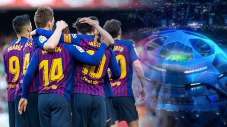 3 Masalah yang harus dipecahkan Barcelona jika mau juara Liga Champions. - INDOSPORT