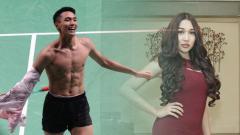 Indosport - Jonatan Christie dan Lucinta Luna