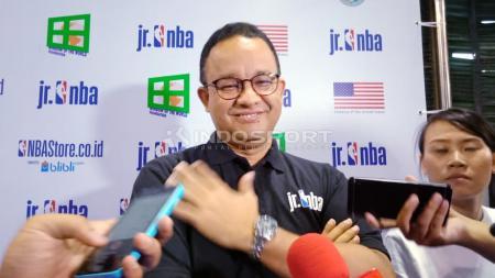 Anies Baswedan, Gubernur DKI Jakarta. - INDOSPORT