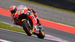 Indosport - Pembalap Repsol Honda Marc Marquez di MotoGP Argentina 2019, Senin (01/04/19) dini hari.