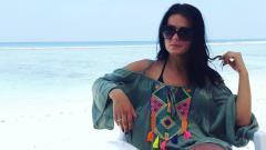 Indosport - Dajana Rukavina, istri Aleksandar Rakic striker Madura United