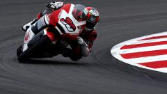 Indosport - Dimas Ekky Pratama finis di posisi ke 25 pada sesi latihan bebas di sirkuit catalunya