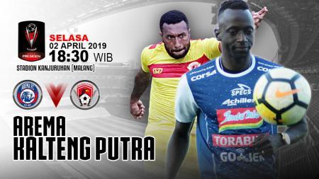 Prediksi pertandingan Arema FC vs Kalteng Putra. - INDOSPORT