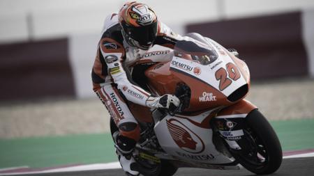 Dimas Ekky Pratama mengalami kecelakaan hebat saat sesi latihan bebas pertama Moto2 Assen hingga menyebabkan Red Flag dikibarkan - INDOSPORT