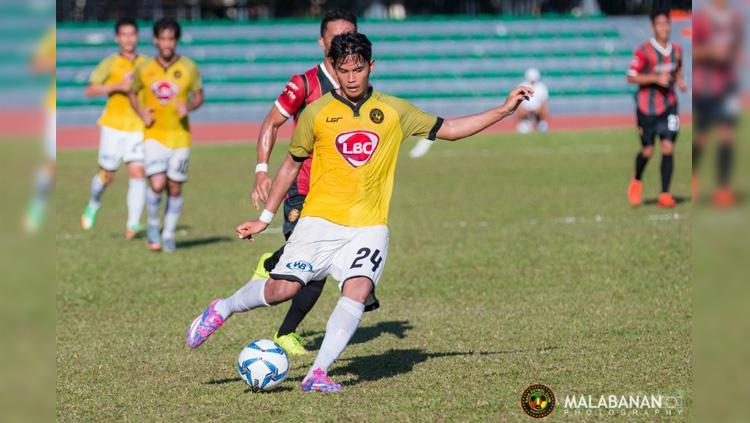 Pemain Kaya-Iloilo FC Marwin Angeles. Copyright: Miguel Malabanan