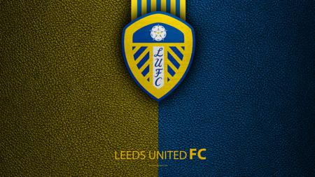 Logo Leeds United, klub penuh sejarah di Liga Inggris. - INDOSPORT