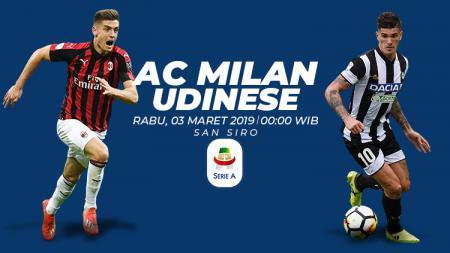 Prediksi AC Milan vs Udinese - INDOSPORT