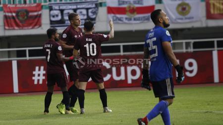 Pertandingan PSM Makassar vs Kaya FC. - INDOSPORT