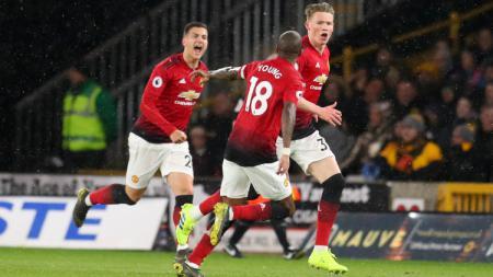Scott McTominay dianggap bakal menjadi sosok pengganti Paul Pogba di laga lanjutan Liga inggris 2019-2020 melawan Liverpool. - INDOSPORT