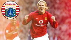 Indosport - Diego Forlan eks pemain Manchester United.