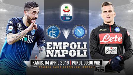 Pertandingan Empoli vs Napoli. - INDOSPORT