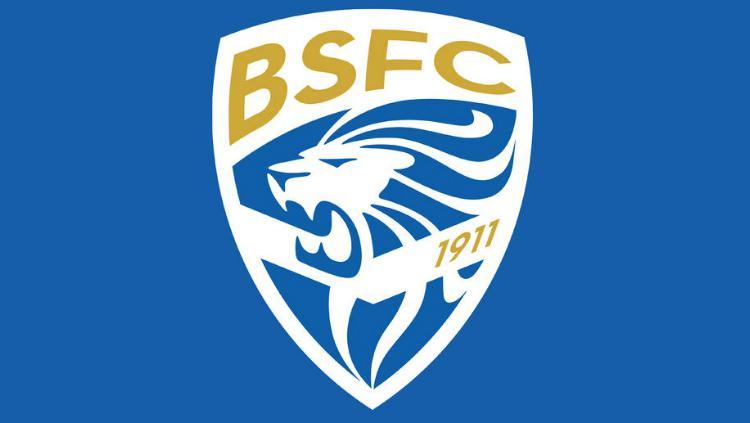 Logo baru Brescia Calcio yang lebih modern. Copyright: Brescia Calcio