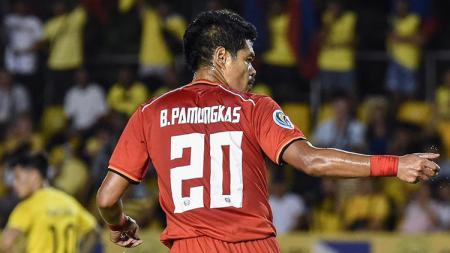 Bambang Pamungkas ketika tampil membela Persija di Piala AFC 2019. - INDOSPORT