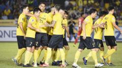 Indosport - Pertandingan Ceres Negros vs Persija Jakarta di Piala AFC 2019.