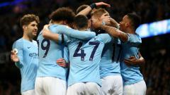 Indosport - Manchester City yang bisa saja kehilangan bnayak pemain andalannya, kabarnya meminati sosok bintang PSG, Kylian Mbappe.