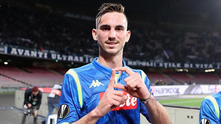 Fabian Ruiz gelandang Napoli Copyright: Francesco Pecoraro/Getty Images