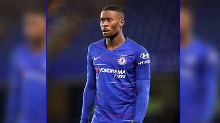 Marc Guehi, pemain Chelsea U-19 saat bermain di Stamford Bridge akhir pekan lalu. (John Walton/GettyImages) - INDOSPORT