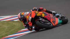 Indosport - Johann Zarco sudah sepakat memutus kerja sama dengan Red Bull KTM akhir musim ini. Mirco Lazzari gp/Getty Images.