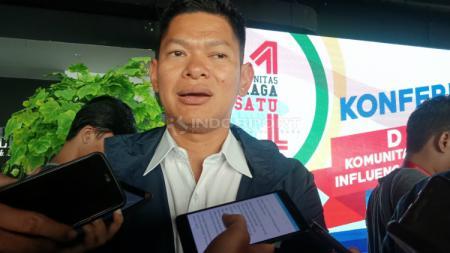 Raja Sapta Oktohari, Ketua National Olympic Commitee (NOC) Indonesia memberikan pernyataan terkait hasil Indonesia di SEA Games 2019. - INDOSPORT