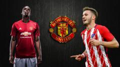 Indosport - Saul Niguez sempat membuat hati para suporter Manchester United berdebar-debar, pasalnya dirinya digosipkan bakal merapat ke Old Trafford.