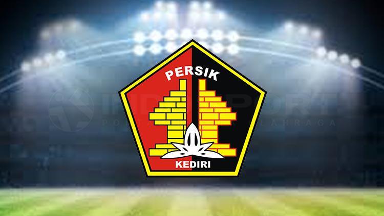 Logo klub sepak bola nasional Persik Kediri. Copyright: INDOSPORT.COM