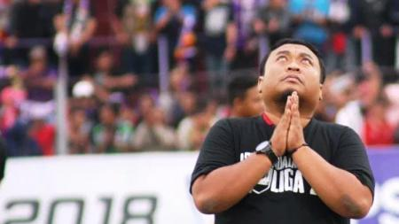Manajer Persik Kediri, Benny Kurniawan. - INDOSPORT