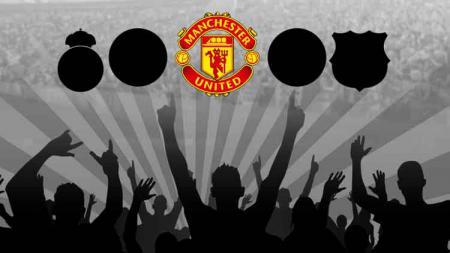 Manchester United salah satu klub dengan jumlah penonton terbanyak di laga kandang musim ini. - INDOSPORT