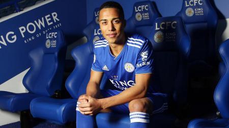 Gelandang Leicester City, Youri Tielemans. - INDOSPORT