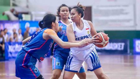 Laga Merpati Bali vs GMC Cirebon pada seri III Srikandi Cup./Humas Srikandi Cup - INDOSPORT
