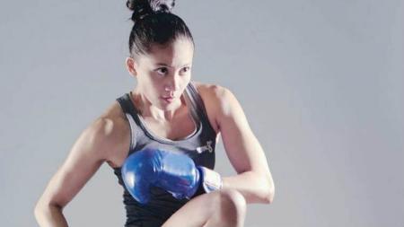 Inandya Citra, petarung MMA Wanita Indonesia. - INDOSPORT
