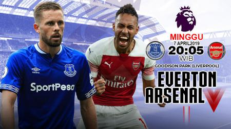 Prediksi pertandingan Liga primer inggris Everton vs Arsenal. - INDOSPORT