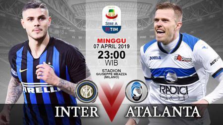 Pertandingan Inter Milan vs Atalanta./Indosport.com - INDOSPORT