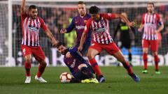 Indosport - Lionel Messi kalah bersaing dengan gelandang Atletico Madrid, Thomas Partey, sebagai raja dribble di LaLiga Spanyol 2019-2020.