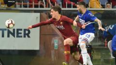 Indosport - Nicolo Zaniolo kesal karena digagalkan ke Juventus. (Paolo Rattini/Getty Images)