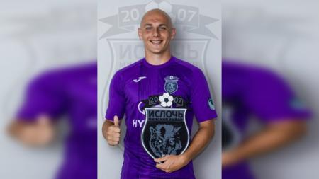 Pemain asal Serbia yang dikabarkan merapat ke Bhayangkara FC dan Arema, Milo Micunovic - INDOSPORT