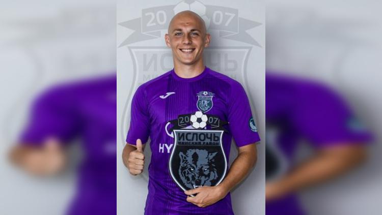 Pemain asal Serbia yang dikabarkan merapat ke Bhayangkara FC dan Arema, Milo Micunovic Copyright: Footballdatabase