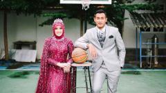 Indosport - Pemain klub Liga 1 2020 Persebaya Surabaya, Hansamu Yama Pranata, merasakan kebahagiaan yang berlipat ganda di Hari Raya Idulfitri 1441 H.
