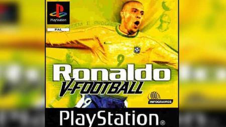 Legenda Brasil, Ronaldo saat dijadikan dalam video game. - INDOSPORT