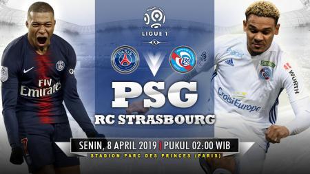 Prediksi pertandingan Paris Saint-Germain vs RC Strasbourg (7/4/2019). - INDOSPORT