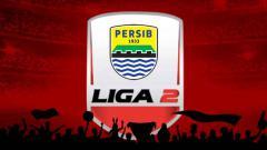 Indosport - Logo Liga 2 dan logo Persib Bandung