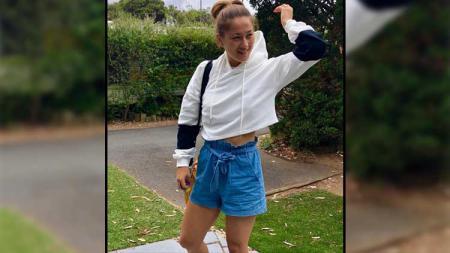 Gronya Somerville adalah pemain badminton profesional Australia yang berspesialisasi dalam ganda. - INDOSPORT