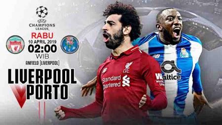 Pertandingan Liverpool vs Porto. Foto: getty image - INDOSPORT