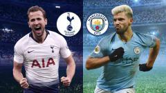 Indosport - Laga Tottenham melawan Manchester City di perempatfinal Liga Champions